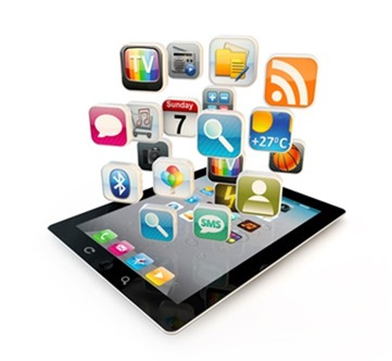 tablet pc with apps - innovations in mobile technology