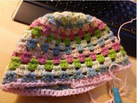 Double Crochet Hat (Sock yarn)