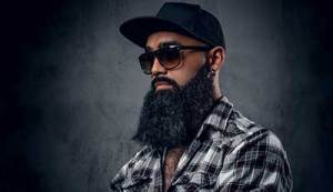 how to grow a beard black man