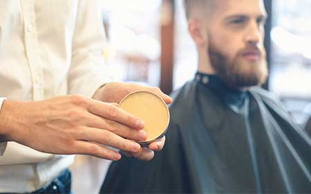 how to use mustache wax