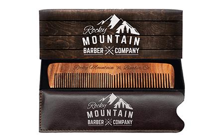 wooden beard combs