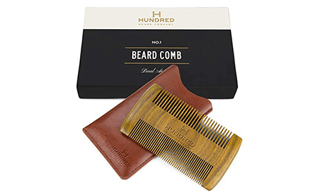bone beard comb