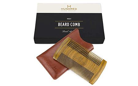 bone beard comb