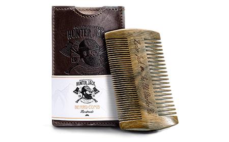 Hunter Jack Beard Comb Kit for Men