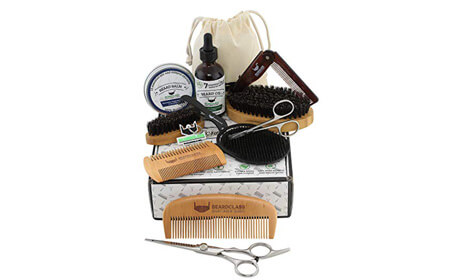 BEARDCLASS Beard Grooming Kit Set
