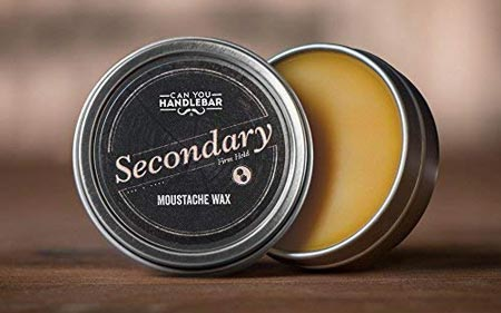 Secondary Strong Hold Moustache Wax For Men