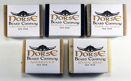Norse Beard Company Natural Handmade Men's Soap