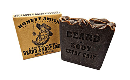 Honest Amish Beard & Body Soap
