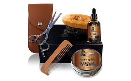 The Beard Legacy Beard Grooming & Trimming Kit