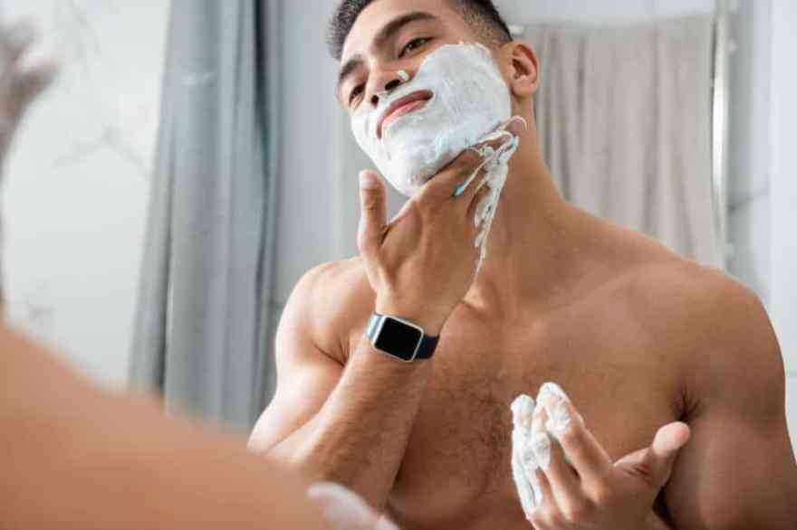Use shaving cream