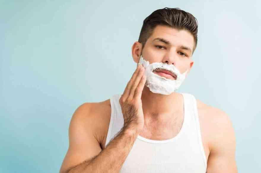 Apply Shaving Cream