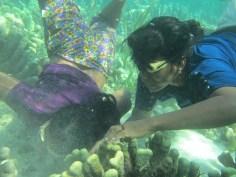 Bajau diving women, Sanpela, Wakatobi, Indonesia