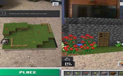 Minecraft Earth - Cómo construir una casa 1