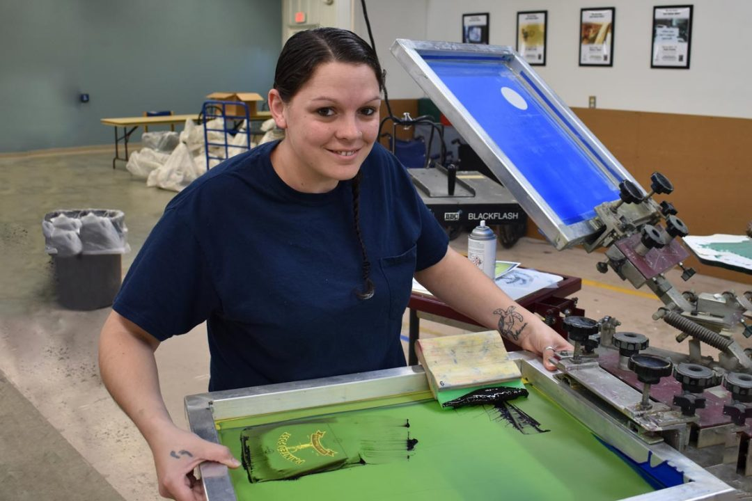 Katie - Screen Printing Services