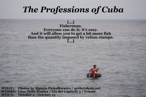 """The Professions of Cuba"" by Marcin Piekałkiewicz"