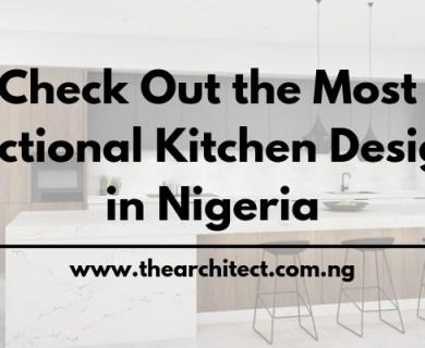 Best Kitchen designs in Nigeria