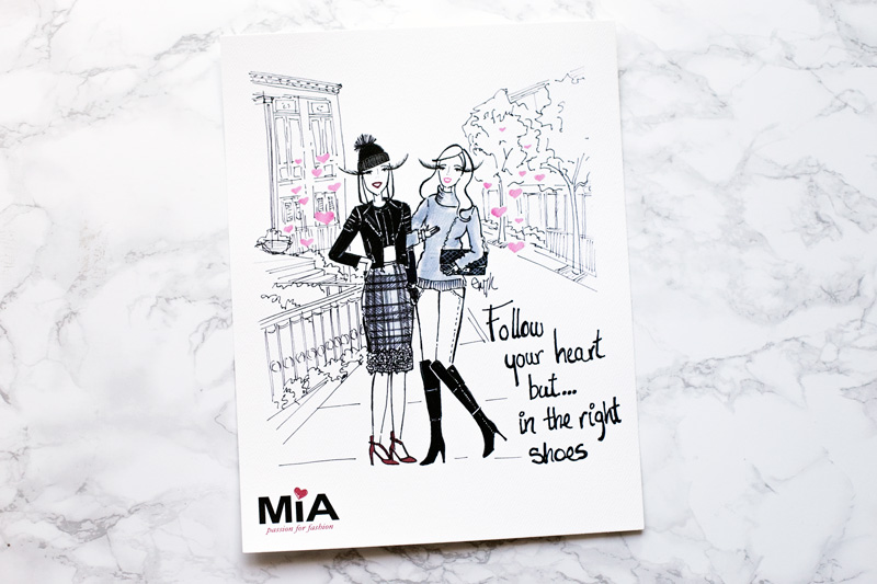 The MIA Shoes Besties Illustration by Gissi Jimenez