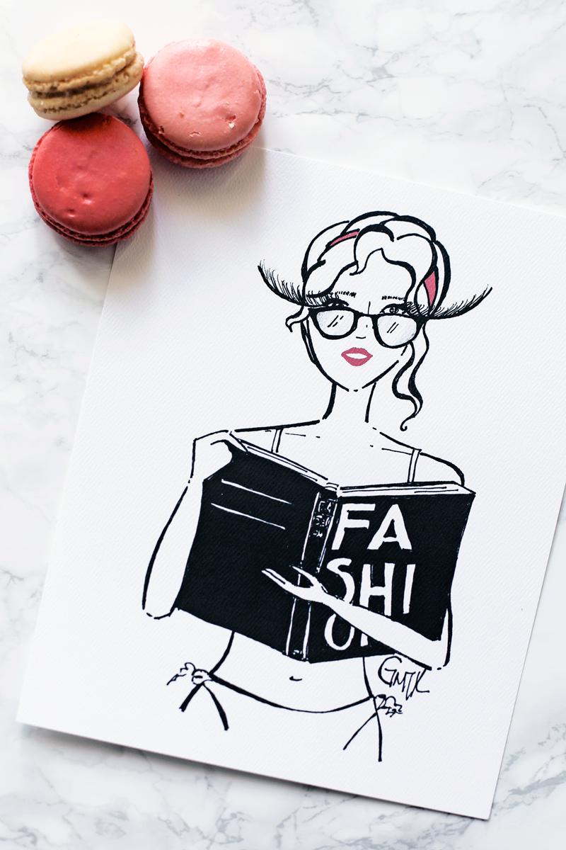 Fashion Book Girl