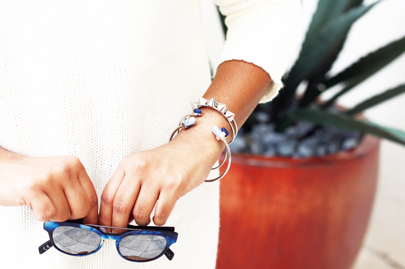 Italia Independent Sunnies and H&M bracelets