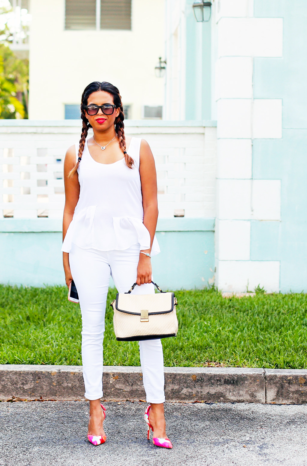 All White outfit The Architect of Style
