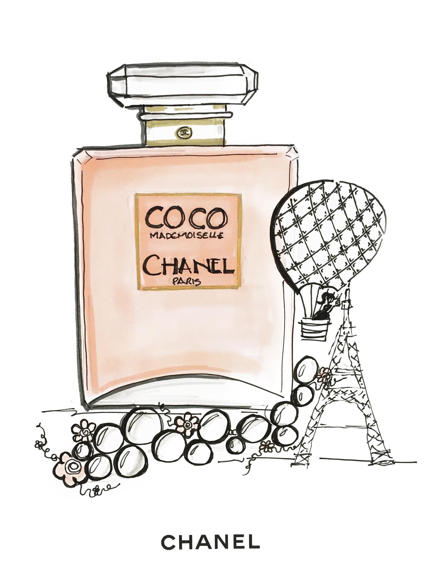 TAOS-Chanel-Saks-drawing
