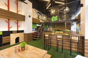 Mozzars Pizzaworks Interiors