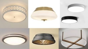 ceiling lights-flush mount lights