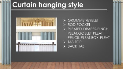 curtain hanging styles