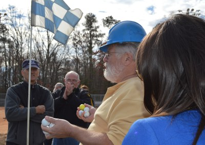First Annual Helicopter Golf Ball Drop for ARCHway Institute, Carrboro, NC
