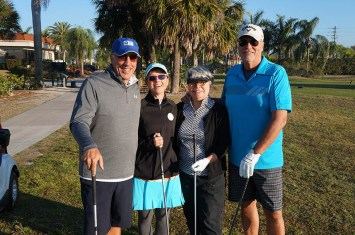 2017 ARCHway March 18th Golf - Dan _ Michelle Carpenter and Sharon _ Dave Blair