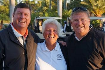 2017 ARCHway March 18th Golf -PGA Pro Steve Baisch Monika Tandon _ Dan Stuckey