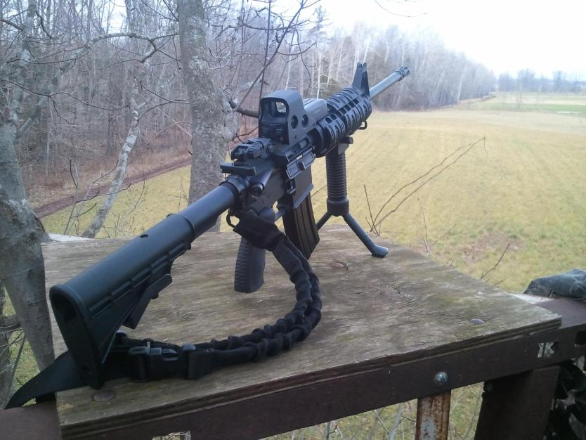 What Do I Put on my Hunting AR-15? - AR Accessories - TheArmsGuide.com