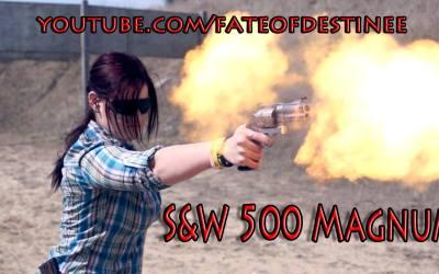 Photo Friday: S&W Model 500 Muzzle Flash - TheArmsGuide.com