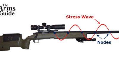 Rifle accuracy barrel vibration