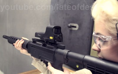 Photo Friday: Ruby & Her Ruger SR-22 - TheArmsGuide.com
