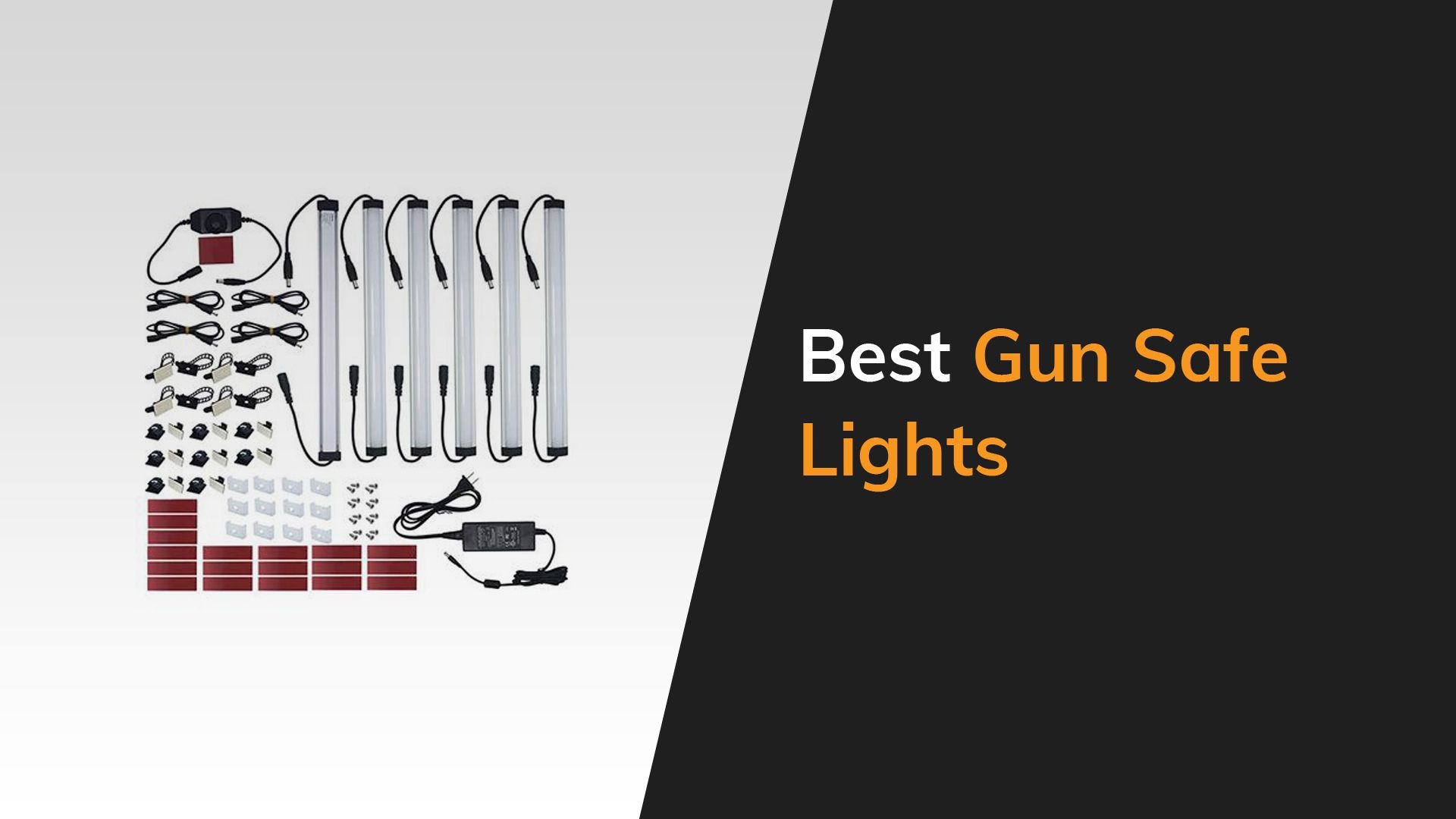 the 8 best lights for your gun safe in