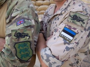British and Estonian Soldiers need to trust each other in Afghanistan
