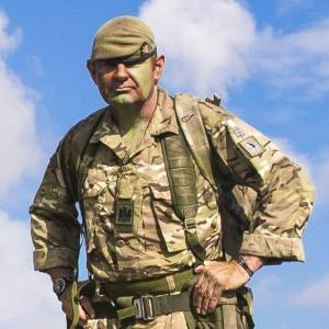 WO1 (RSM) Steve Armon of the Royal Anglian Regiment