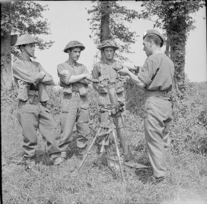 British Army Instructors in Normandy
