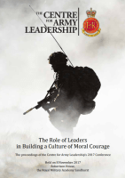 The Role of Leaders In Building a Culture of Moral Courage