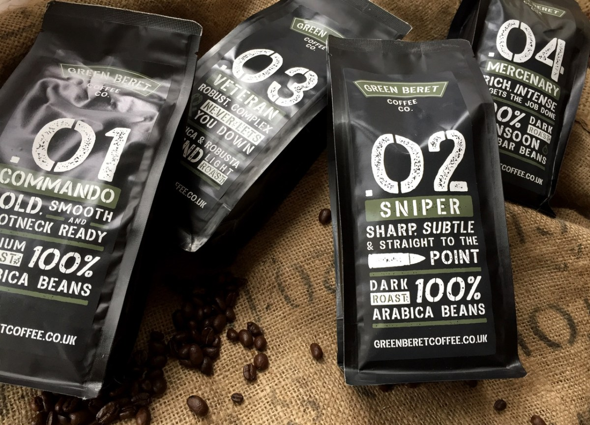 Commando Coffee - ideal father's day gifts for soldiers