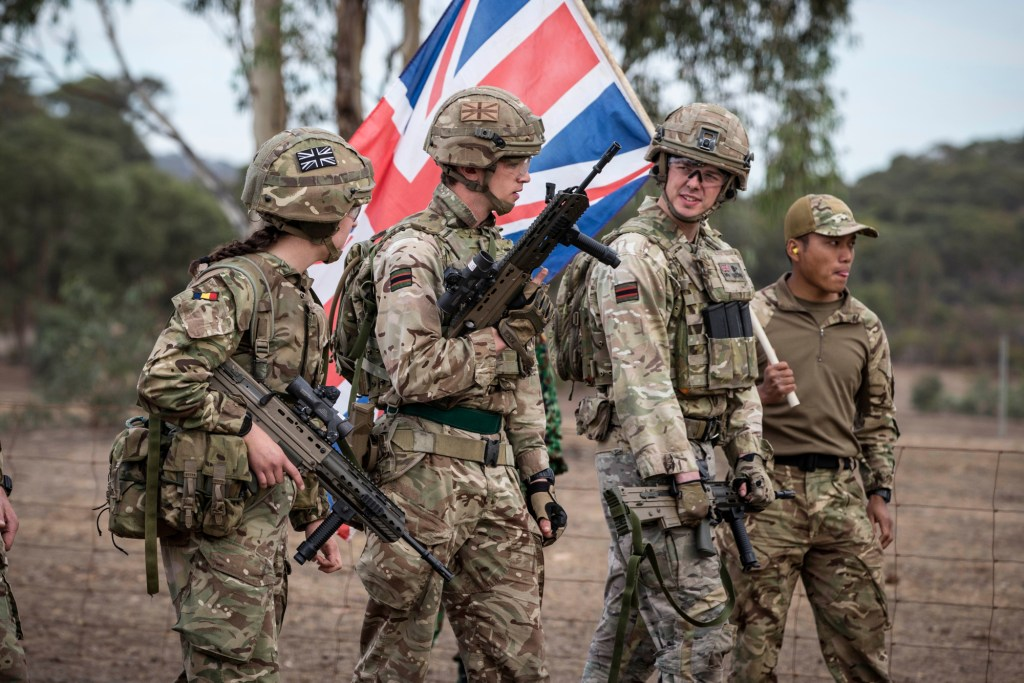 British Soldiers at the Australian Army Shooting Competition - Orders