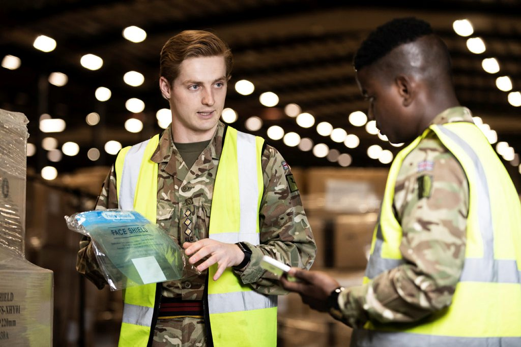 Lockdown leadership - The Army provides support to COVID PPE logistics under Op RESCRIPT