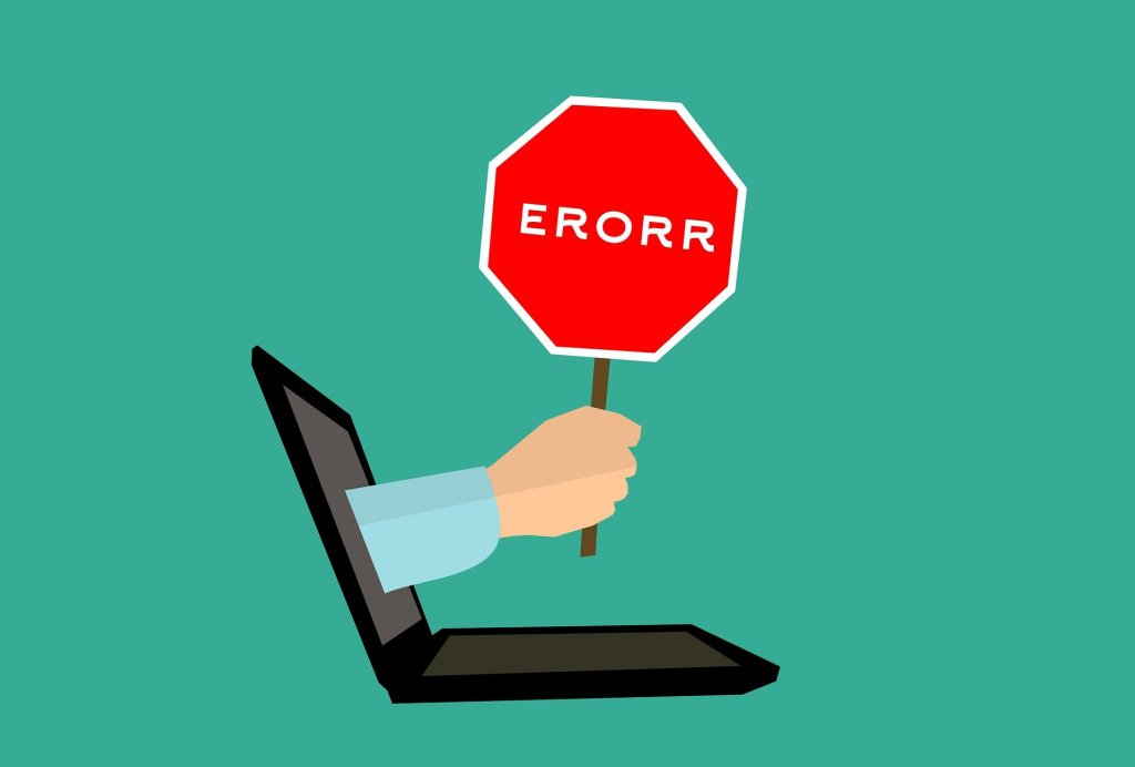 Honest Mistakes make Better Soldiers - image of an error sign
