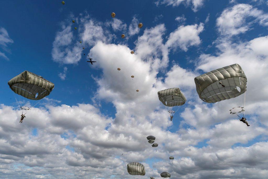 The anniversary jump of Operation Market Garden