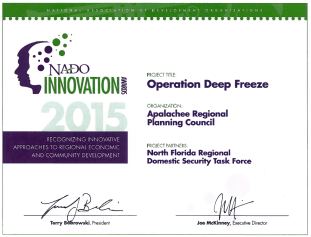 NADO Innovation Award 2015