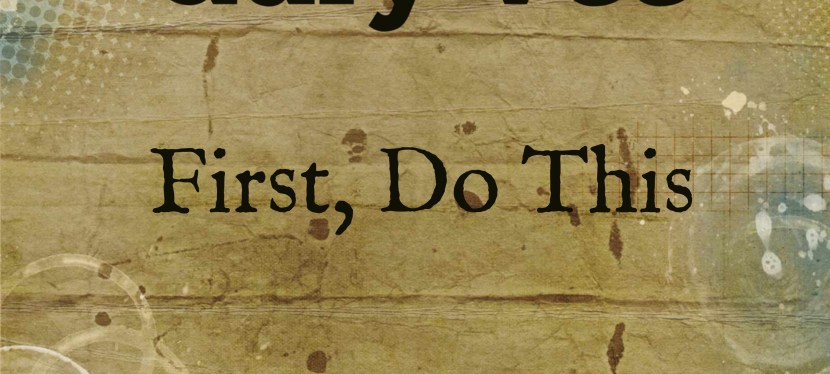 Gary Vee: First, Do This