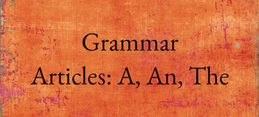 Arsenio's ESL Podcast: Season 2 – Episode 2 – Grammar – Articles
