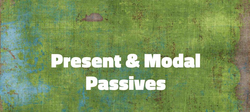 Arsenio's ESL Podcast: Season 3 – Episode 58 – Grammar – Present and Modal Passives