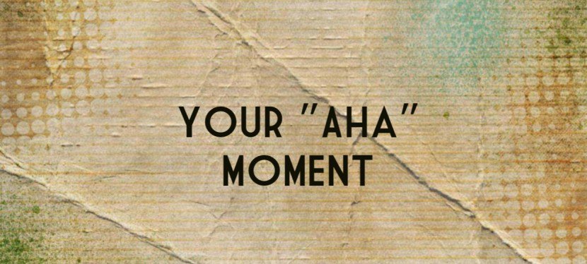 "Arsenio's ESL Podcast: Season 4 – Episode 19 –  Speaking Task – Your ""Aha"" Moment"